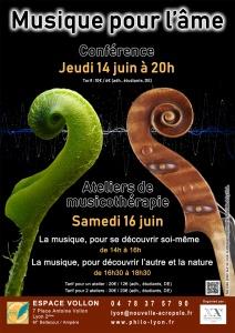 Conférence : Musique pour l'âme