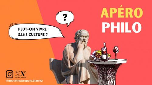 APERO-PHILO : Peut-on vivre sans culture ?