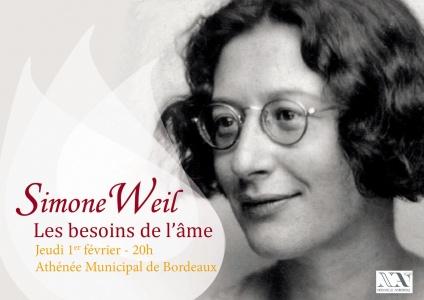 Simon Weil : Les Besoins de l'âme